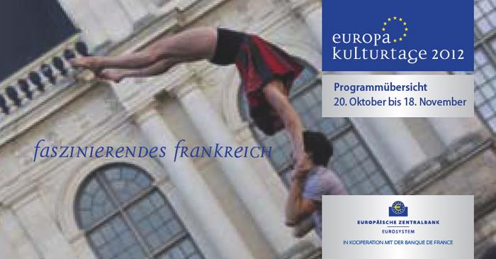 Europa Kulturtage der Europäischen Zentralbank