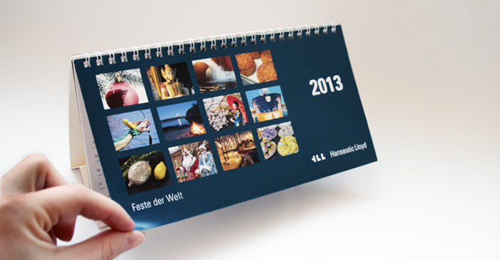 Hanseatic Lloyd Tischkalender 2013